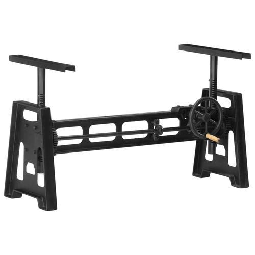 vidaXL Esstisch-Gestell Höhenverstellbar 150×60×90 cm Gusseisen