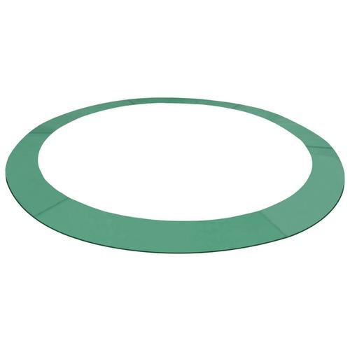 vidaXL Trampolin-Randabdeckung PE Grün für 3,66 m Runde Trampoline