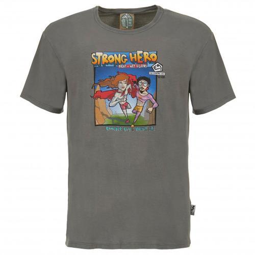 E9 - M Strong Hero - T-Shirt Gr L;M;S;XL;XS grau