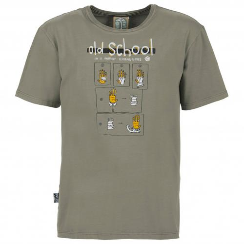 E9 - Old School - T-Shirt Gr S grau