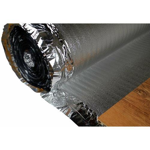 Hexim - Trittschalldämmung - Dampfsperre   für Holzböden, Fußbodenheizung   Silver Plus:100