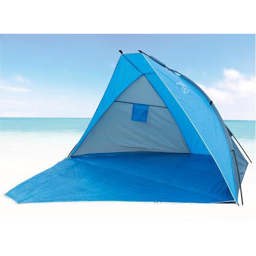 EXPLORER Strandmuschel Strandmuschel, verschließbar blau Sonnenschutz Insektenschutz Camping Schlafen Outdoor