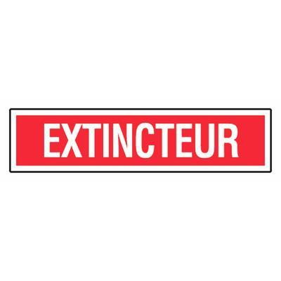 Panneau ''Extincteur'' 330x75 mm - NOVAP - 4120393