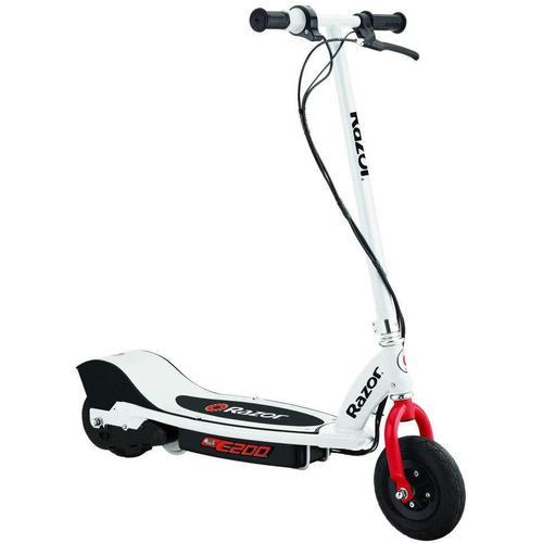 Razor E-Scooter E200 Electric Scooter weiß Elektroscooter Elektroroller Motorroller Mofas