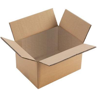 caisse carton double cannelure - 350x350x350 - manutan