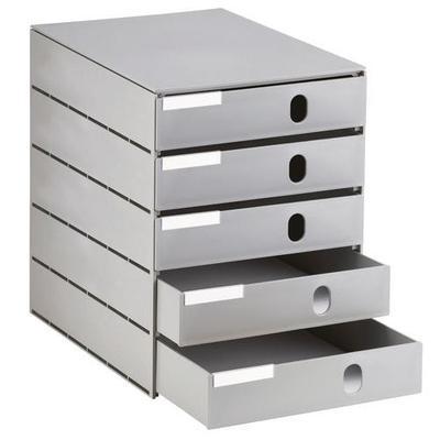 module styroval 5 tiroirs fermés...