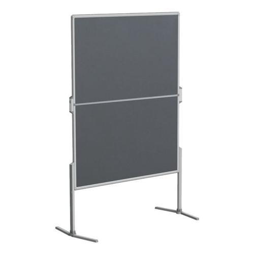 Moderationswand »PRO« klappbar grau, Franken, 190 cm