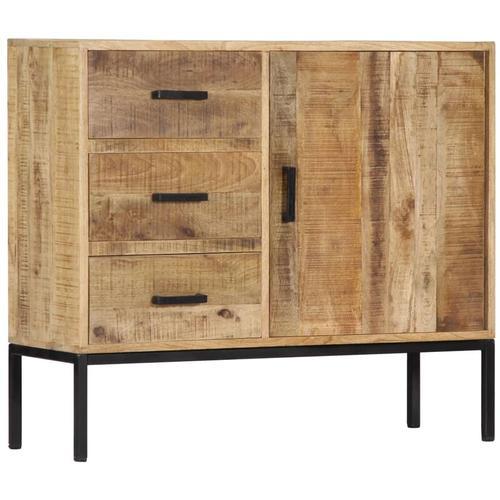 Vidaxl - Sideboard 88 x 30 x 71 cm Massivholz Mango