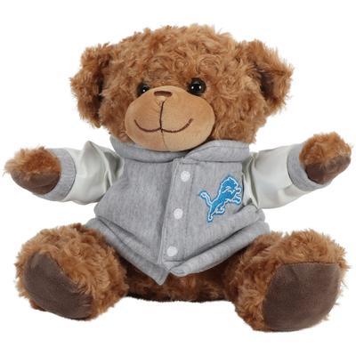 """Detroit Lions 10"""" Varsity Plush Bear"""