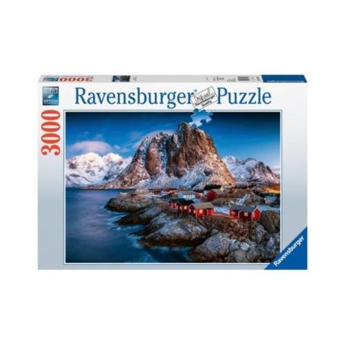 Puzzle 3000 Teile, 121x80 cm, Hamnoy, Lofoten