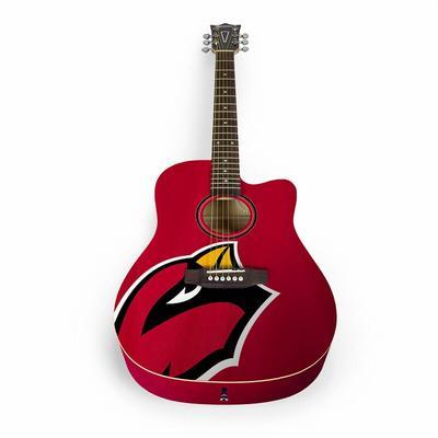 Arizona Cardinals Woodrow Acoustic Guitar
