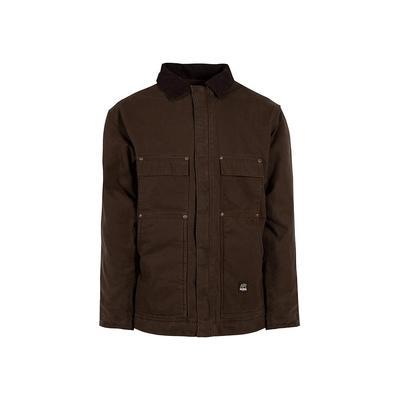 Berne Men's XX-Large Tall Bark 100% Cotton Original Washed Chore Coat, Brown