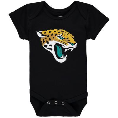 """Jacksonville Jaguars Newborn Black Team Logo Bodysuit"""