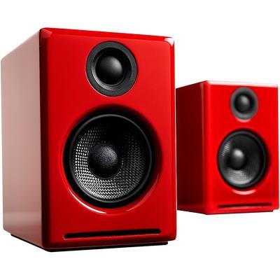 Audioengine A2+ Wireless Bluetooth Desktop Speakers Red