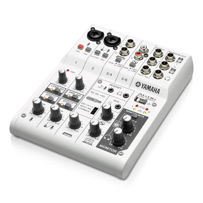 Yamaha AG06 6-Channel Mixer/USB Audio Interface w/Effects and D-Pre Mic Preamps