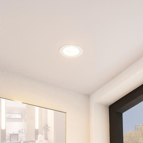 Arcchio Unai LED-Einbaustrahler 2.700K IP65, 10,6W