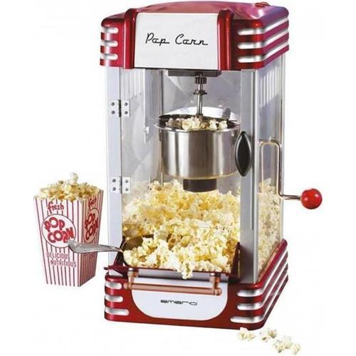 TOP Popcornmaschine, Popcornmaschine, Rot, Silber