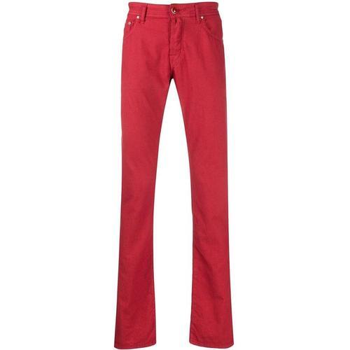 Jacob Cohen 'J622' Jeans mit Einstecktuch