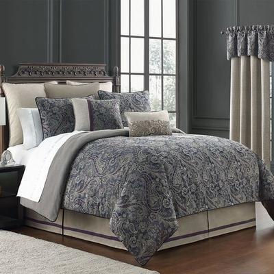 Danehill Comforter Set Midnight Blue, California King, Midnight Blue