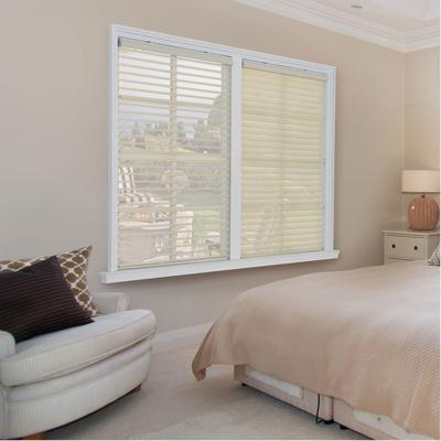 """Wide Width Horizontal Sheer Shade by Whole Space Industries in Ivory (Size 31"""" W 64"""" L)"""