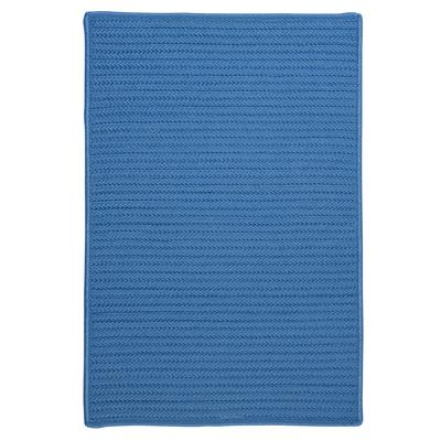 Simple Home Solid Rug by Colonial Mills in Blue Ice (Size 6'W X 6'L)