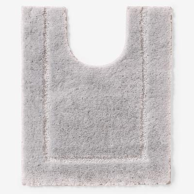 """BH Studio 20"""" x 24"""" Luxe Contour Bath Rug by BH Studio in Gray"""