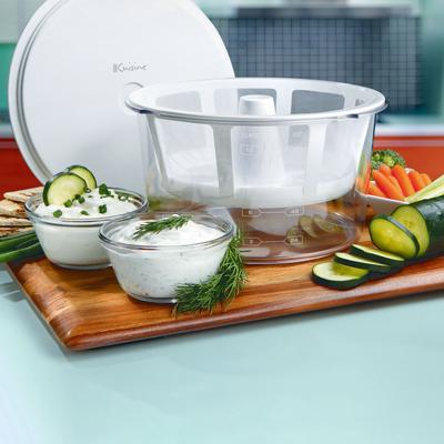 Euro Cuisine Greek Yogurt Maker by Euro Cuisine in White