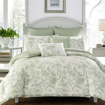 Floral Natalie Comforter Bed Set Peridot, King, Peridot