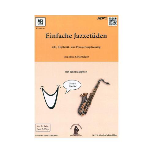 Saxline Edition Einfache Jazzetüden Tenor Sax