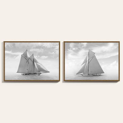 "Sailing the Sea Art 22"" x 32"" - Ballard Designs"