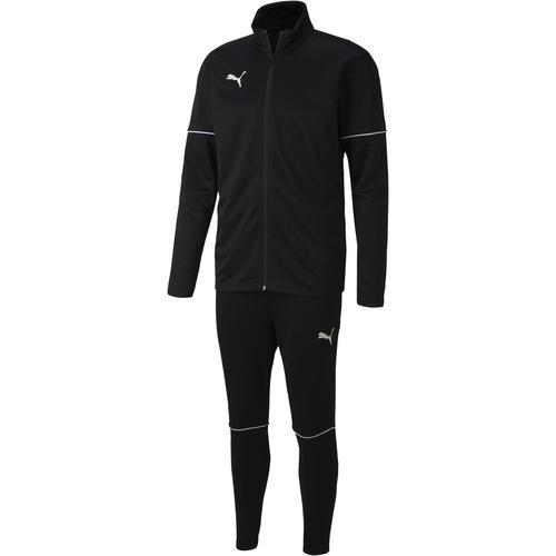 PUMA teamGOAL Trainingsanzug Herren in puma black-puma white, Größe S
