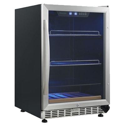 "Eurodib USF54BC 23 1/2"" One Section Wine Cooler w/ (1) Zone - 10 Bottle Capacity, 110v"