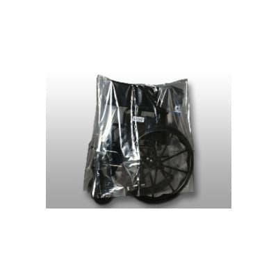 "LK Packaging BOR5045 Medical Equipment Cover for Concentrators & Ventilators - 45"" x 50"", Polyethylene, Clear"