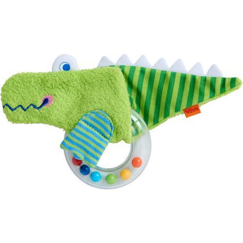 HABA Greifling Krokodil, grün