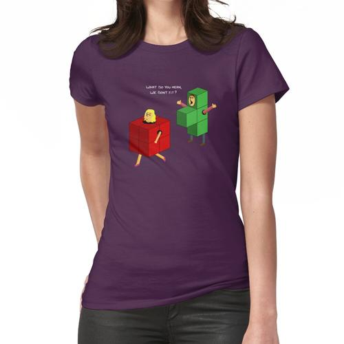 Die falsche Passform Frauen T-Shirt