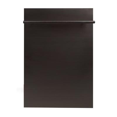 Zline DW-18 18 Inch Wide 16 Place Setting Energy Star Rated Built-In Fully Integ Oil-Rubbed Bronze
