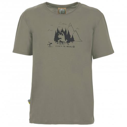 E9 - Living Forest - T-Shirt Gr S grau