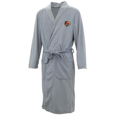 Cincinnati Bengals Concepts Sport Audible Microfleece Robe - Gray