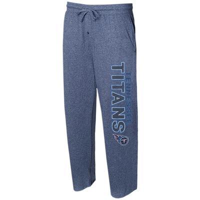 Tennessee Titans Concepts Sport Quest Knit Lounge Pants - Navy