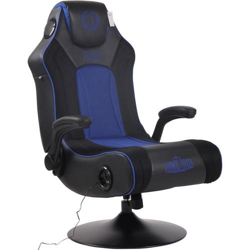 CLP - Gaming Soundsessel Nevers Kunstleder-schwarz/blau