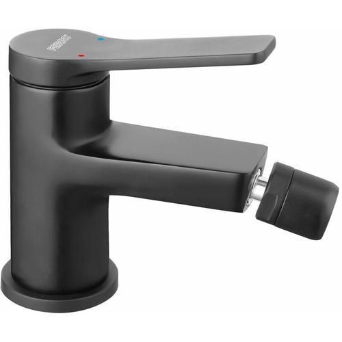 Ferro - Schwarze Einhebelmischer Bidetarmatur Badarmatur Bad Wasserhahn für das Bidet Serie
