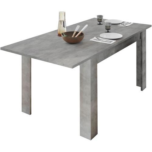 LC Ansteckplatte Dama, Ansteck-/Einlegeplatte grau Zubehör für Esstische Möbel