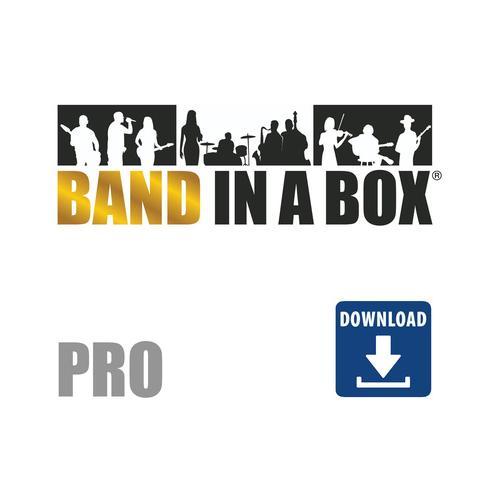 PG Music BiaB 2020 Pro Mac Englisch