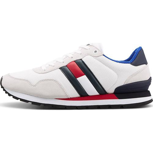 Tommy Jeans, Sneaker Casual Tj in weiß, Sneaker für Herren Gr. 42
