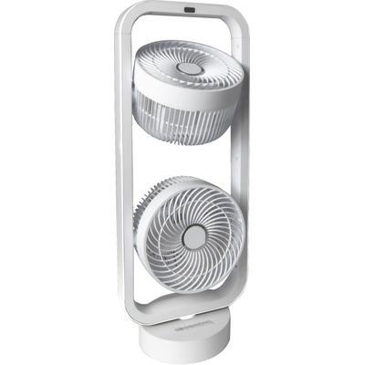 Sonnenkönig Standventilator Vind 2 weiss braun Klimageräte, Ventilatoren Wetterstationen SOFORT LIEFERBARE Haushaltsgeräte