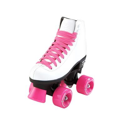 Riedell RW Wave Jr Roller Skates - Youth White