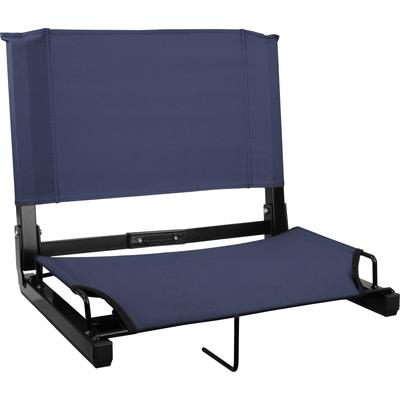 Sports Unlimited Wide Stadium Chair Navy
