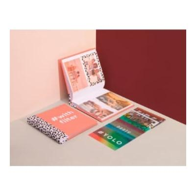 DOIY Design - Coral Photo Album with Filters - coral - Coral