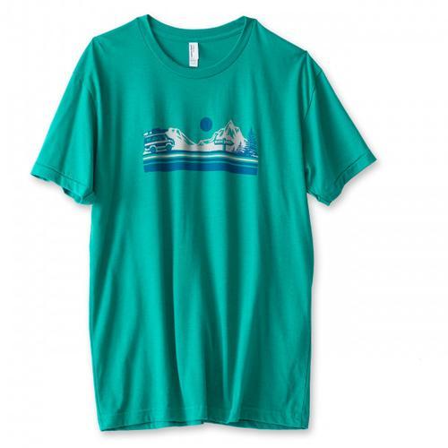 KAVU - Vanishing Point - T-Shirt Gr S türkis