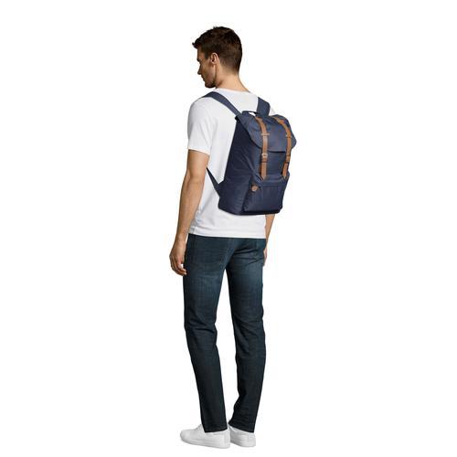 SOLS Cityrucksack Hipster Schnallen Backpack/Rucksack schwarz Taschen Unisex